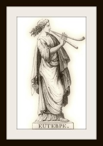 Euterpe, muse of lyric song.